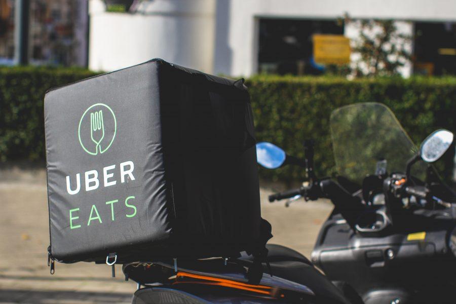 UberEats love Motorcycles